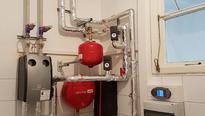 Käktetauscher Pumpengruppe Regelung Universum Kühlung Harreither