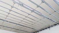 Deckenkühlung Harreither Modulplatten Klimaplatten